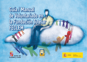 Guía Manual del Voluntariado