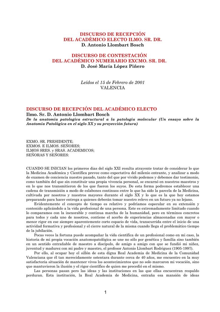 De la anatomía patológica estructural a la patología molecular