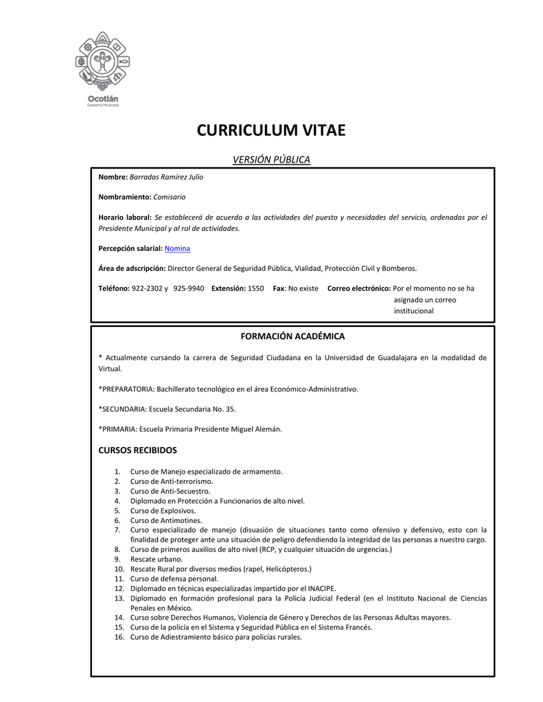 Excelente Objetivo De Currículum Universitario De Secundaria ...