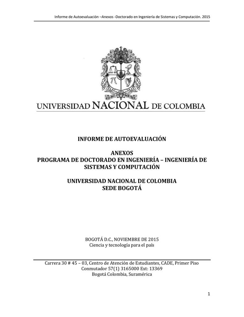 ANEXO 1-13 Informe autoev Doctorado en Ingenieria de Sistemas y