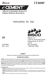 eCEMENT - Bisco Dental