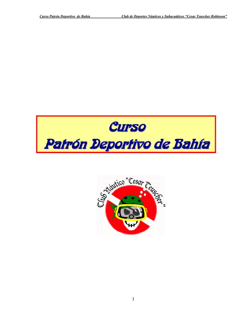Curso Patrón Deportivo de Bahía