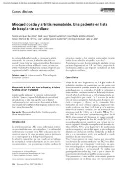 en artritis reumatoide (AR)