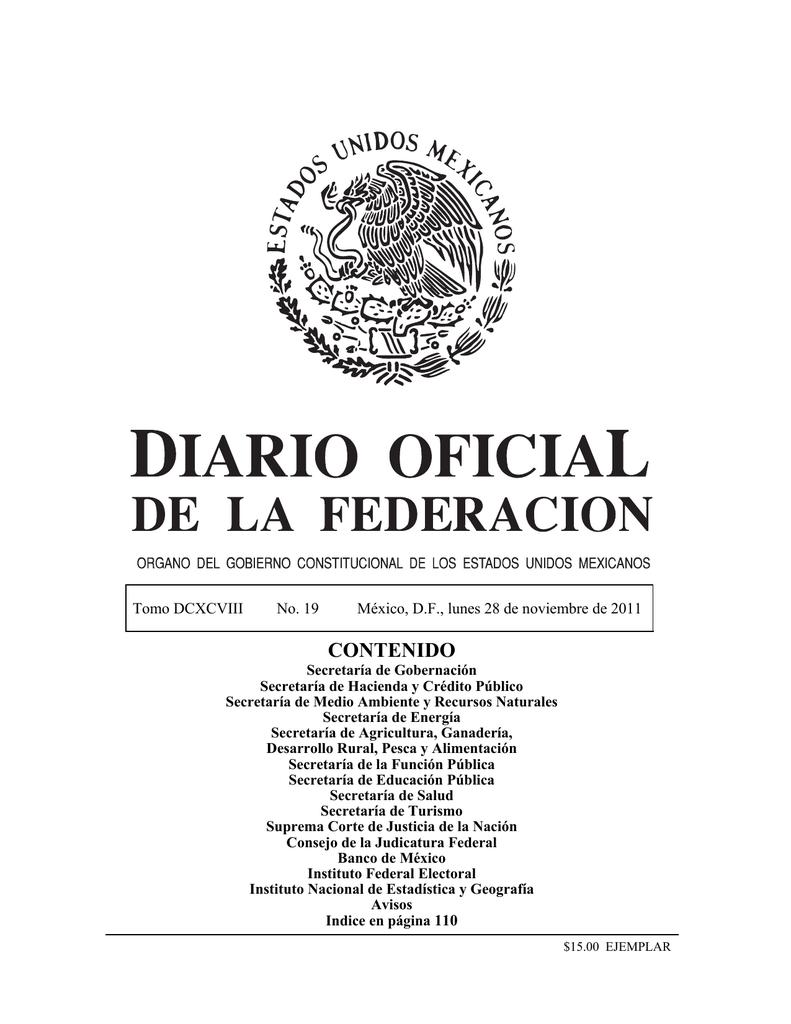 814f02aa281 contenido - Diario Oficial de la Federación