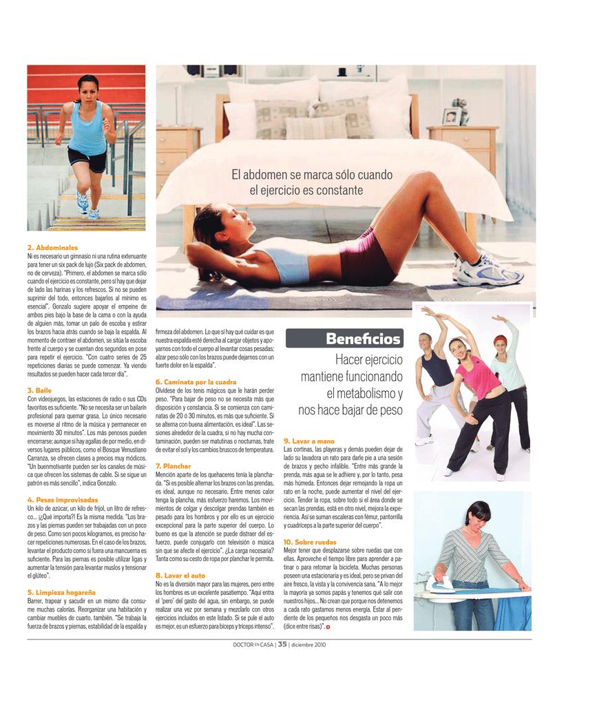 ejercicios de pilates para hacer en casa pdf