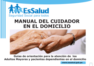 manual del cuidador en el domicilio