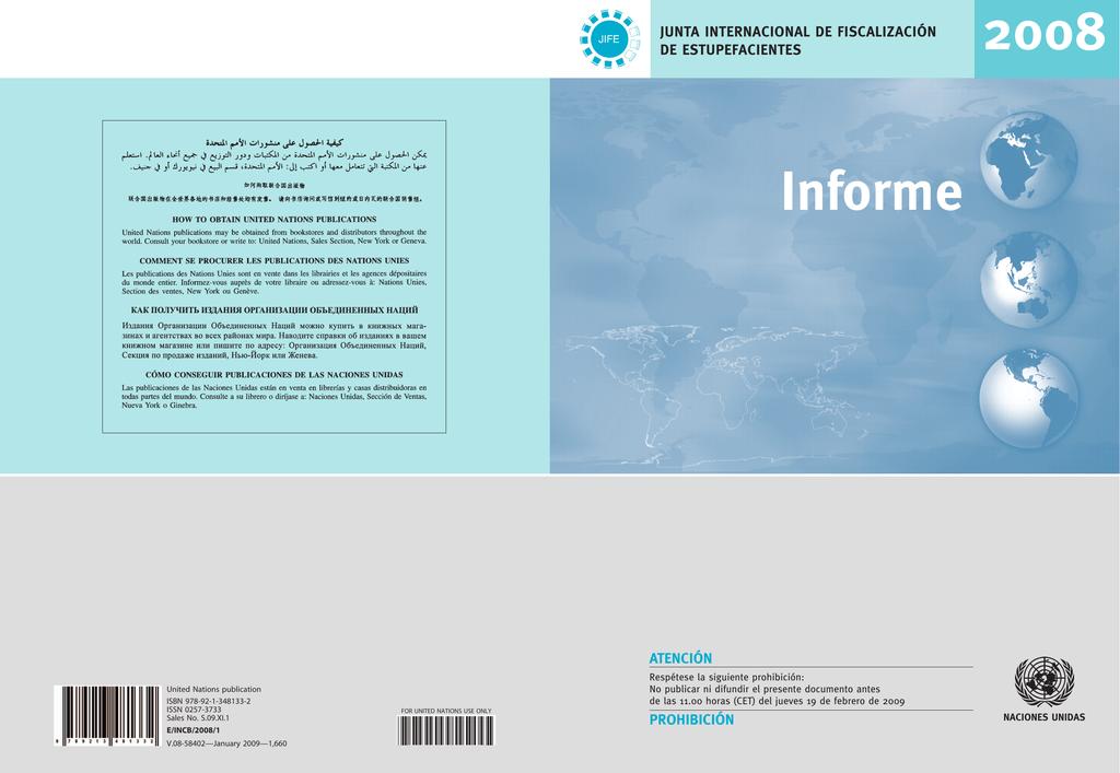 Informe de la Junta Internacional de Fiscalización de