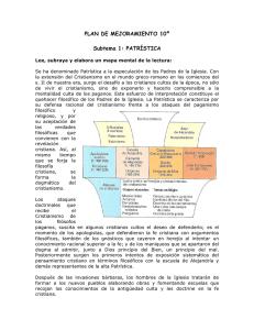 Tema Filosofia Medieval Taller Patristica Y Escolastica