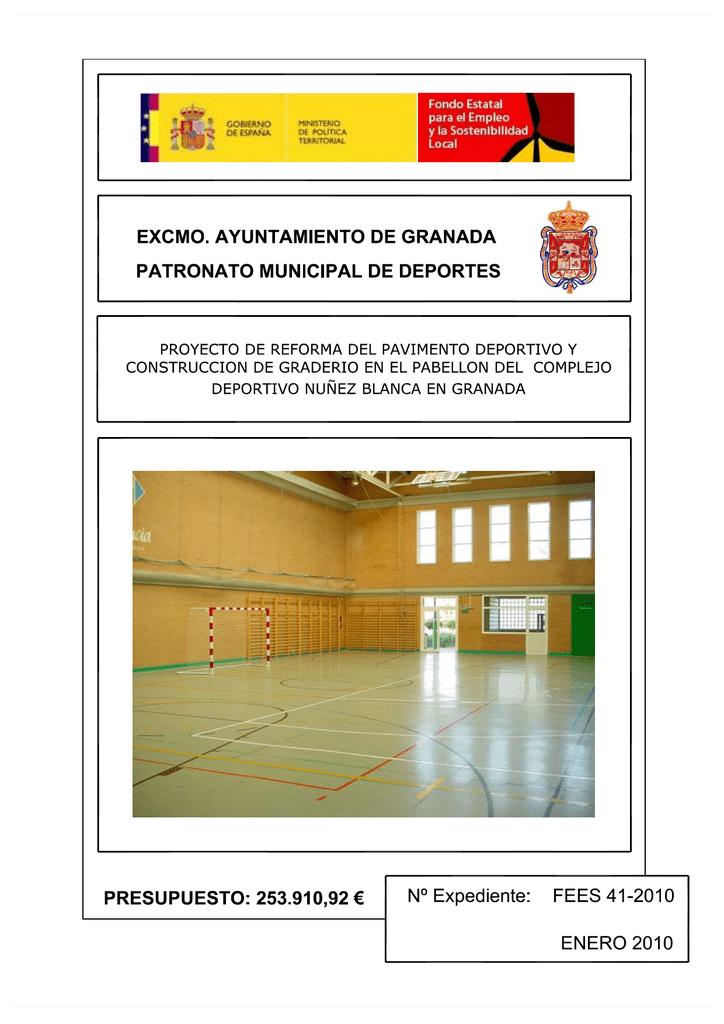 PROYECTO FEES 41 - Ayuntamiento de Granada