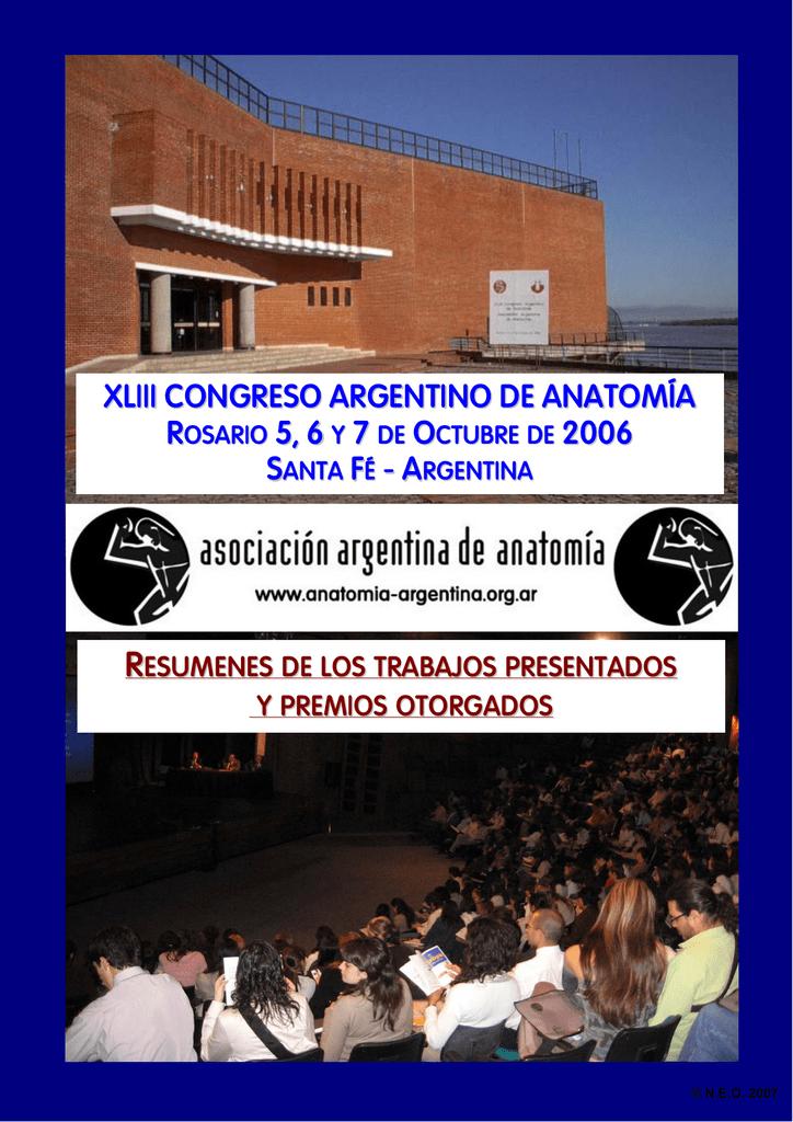 xliii congreso argentino de anatomía asociación