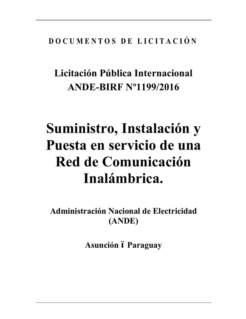sección i. instrucciones a los licitantes