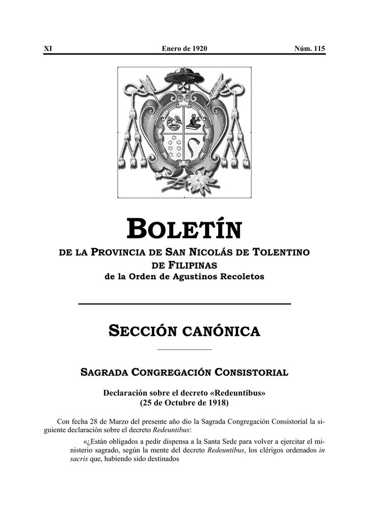 1920 - Agustinos Recoletos