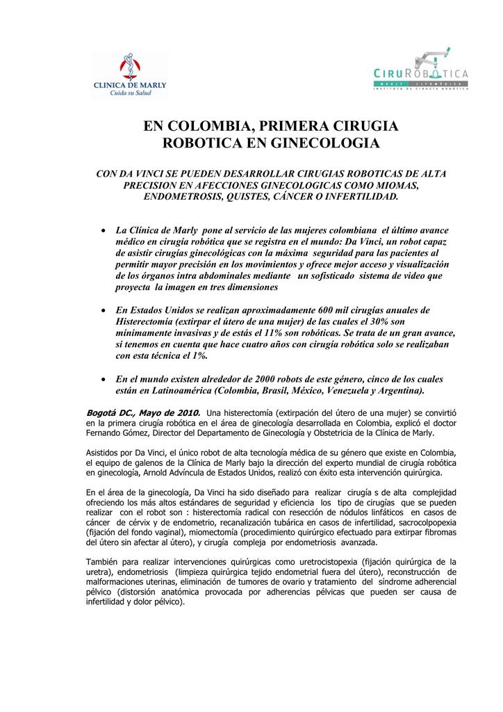 Comunicado General C.. - Sociedad Colombiana de Urología