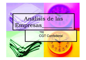 Analisis de las empresas - In