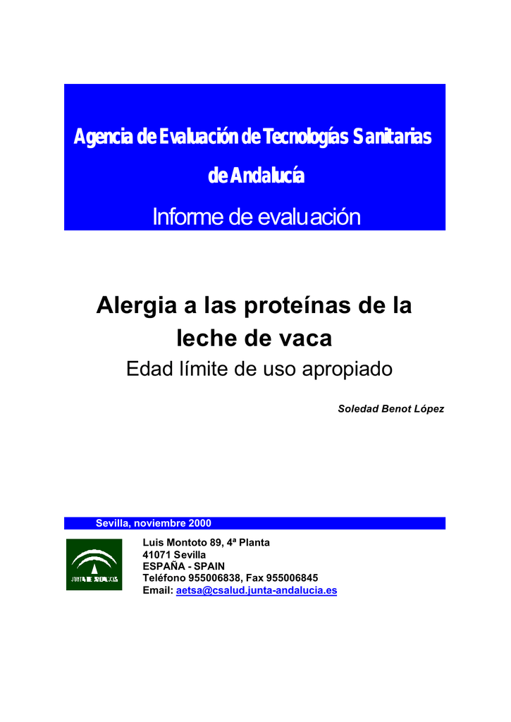 Beta lactoglobulina alergia pdf
