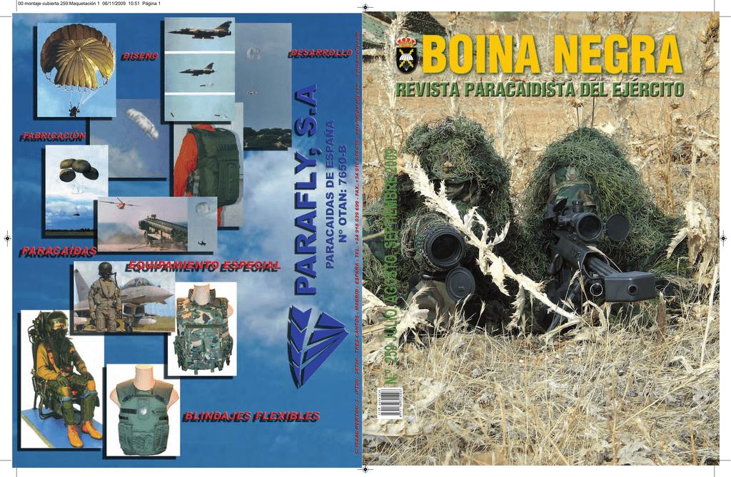revista boina negra nº 259 - Biblioteca Virtual de Defensa 0360b917c6e