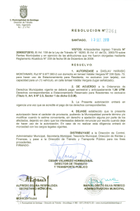 RESOLUe ION N°2261 - Transparencia Municipal
