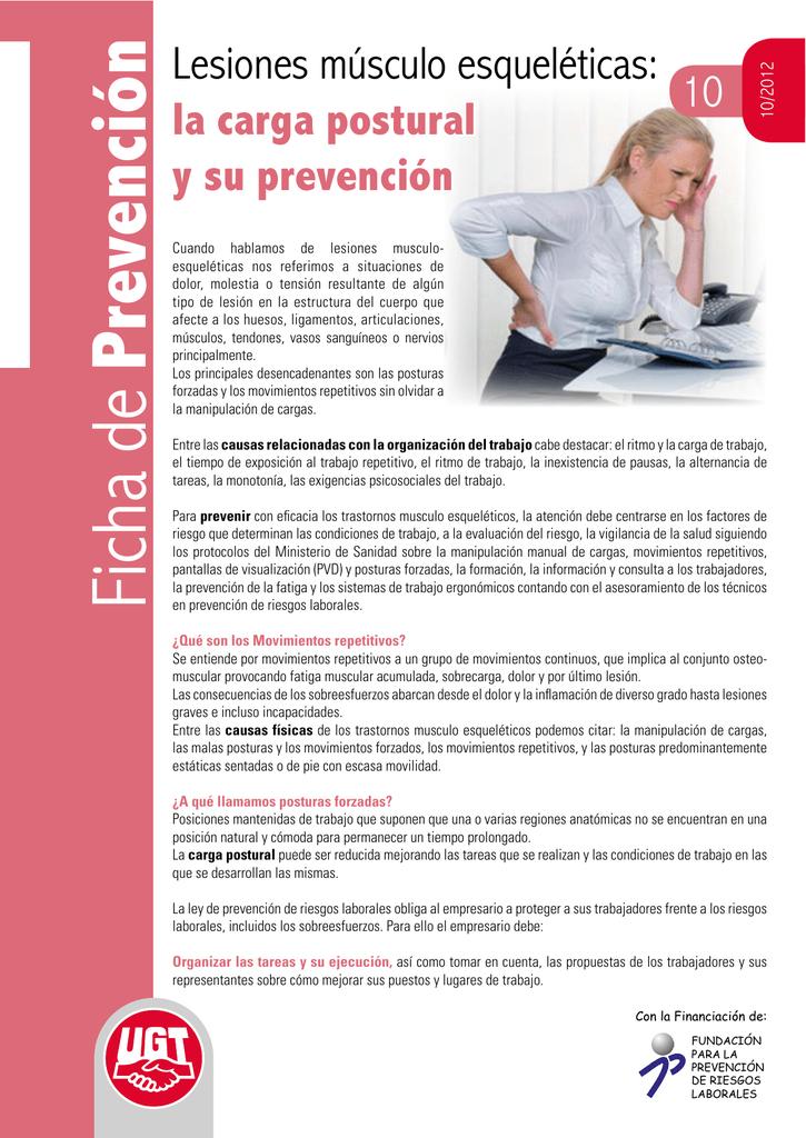 Ficha de Prevención