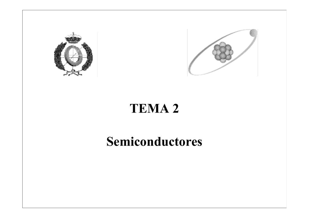 Tema 2 Semiconductores Universidad De Málaga