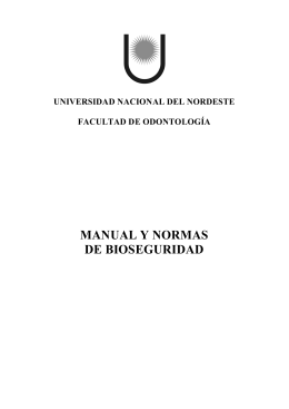 manual y normas de bioseguridad