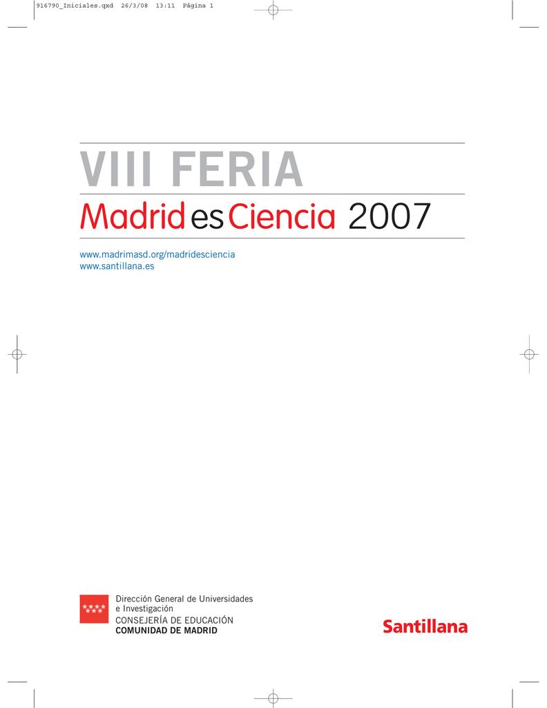19b5857a8e VIII Feria Madrid es Ciencia
