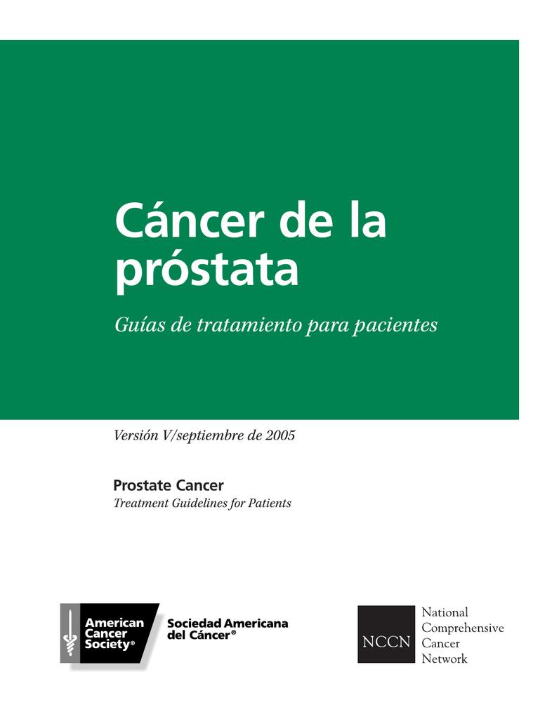 cáncer de próstata recurrente gleason 9 pulgadas