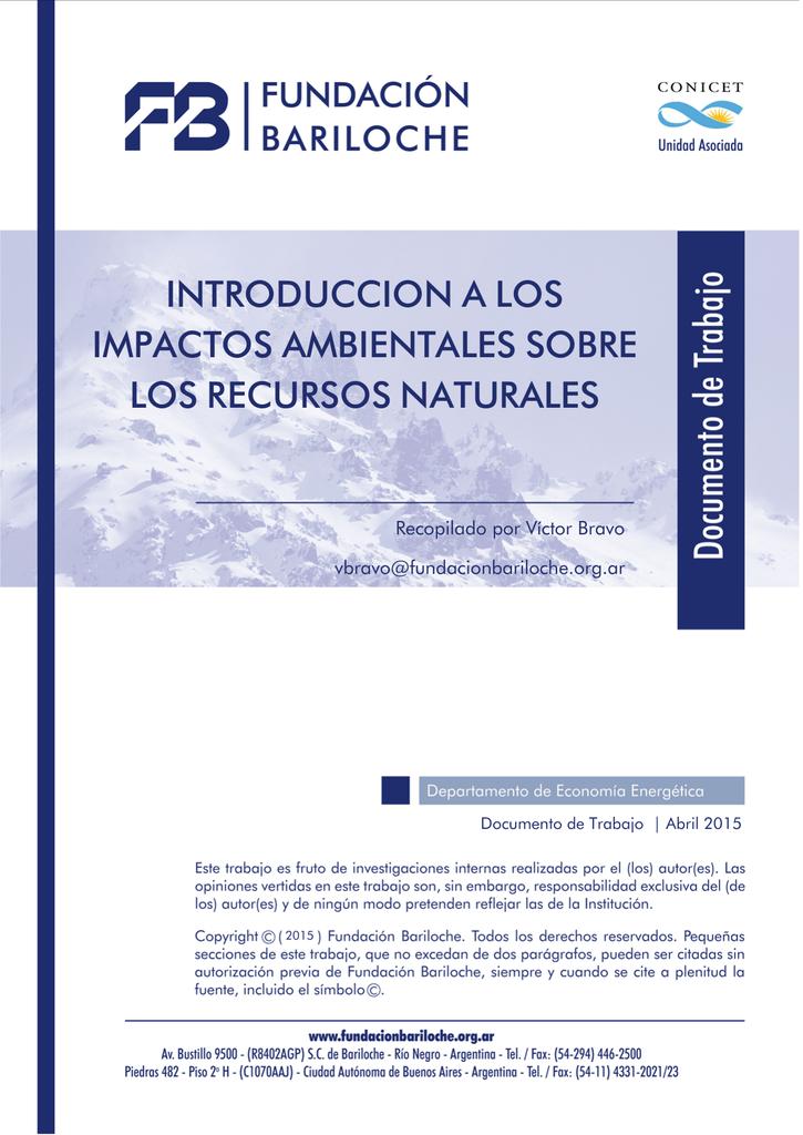 90fdc8750 introduccion a los impactos ambientales sobre los recursos