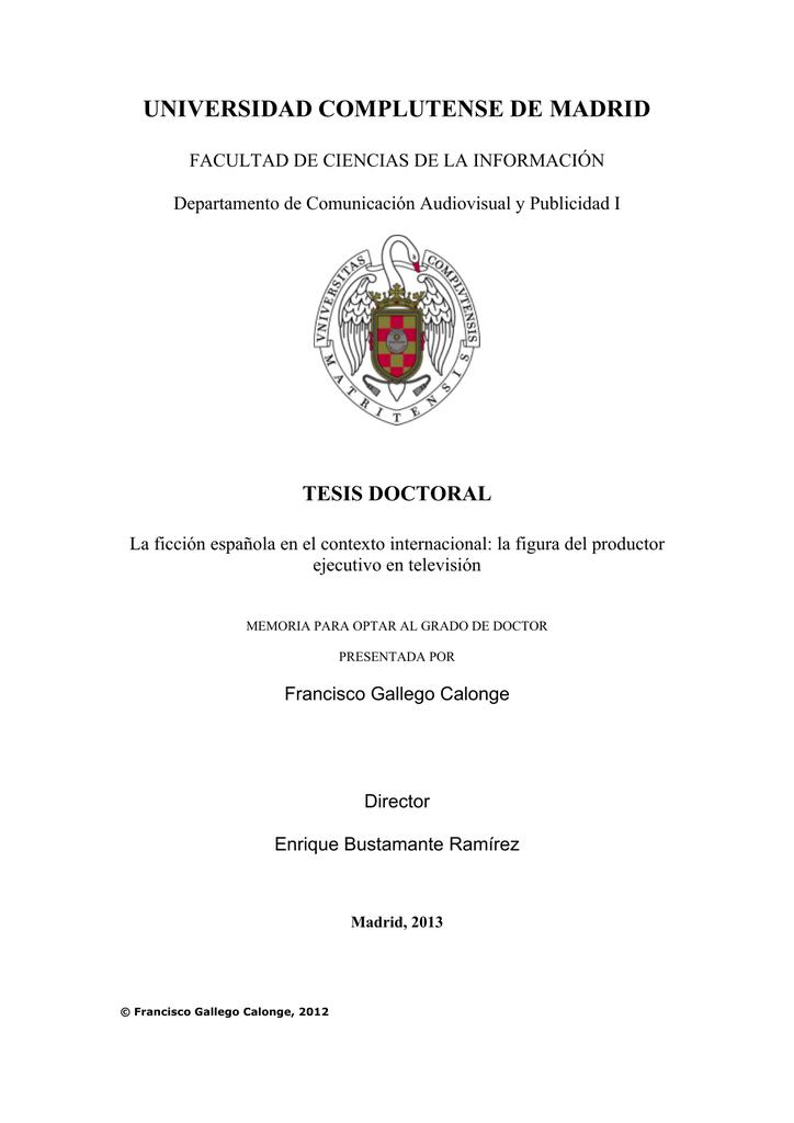 E-Prints Complutense - Universidad Complutense de Madrid