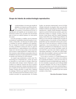 Editorial Grupo de interés de endocrinología