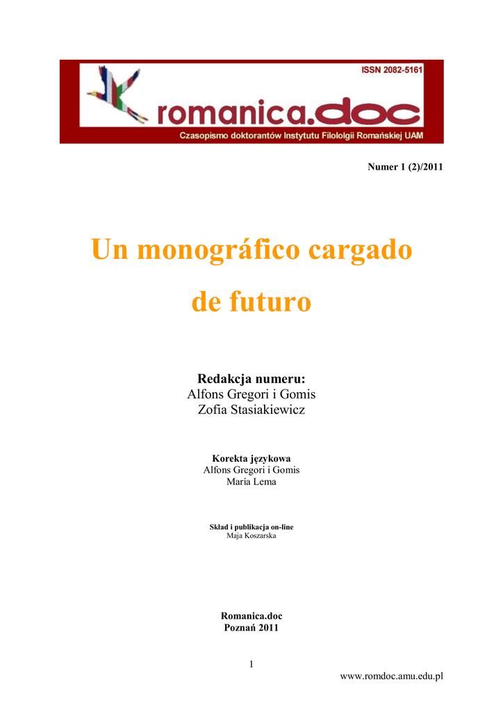 Un Monográfico Cargado De Futuro