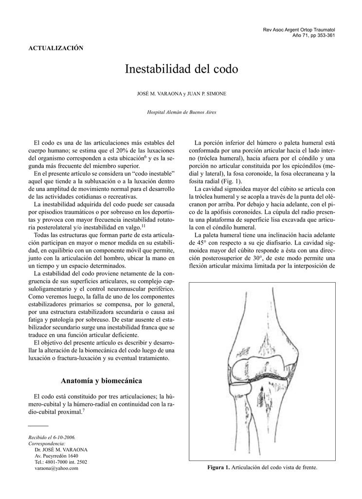 articulaciones del codo pdf