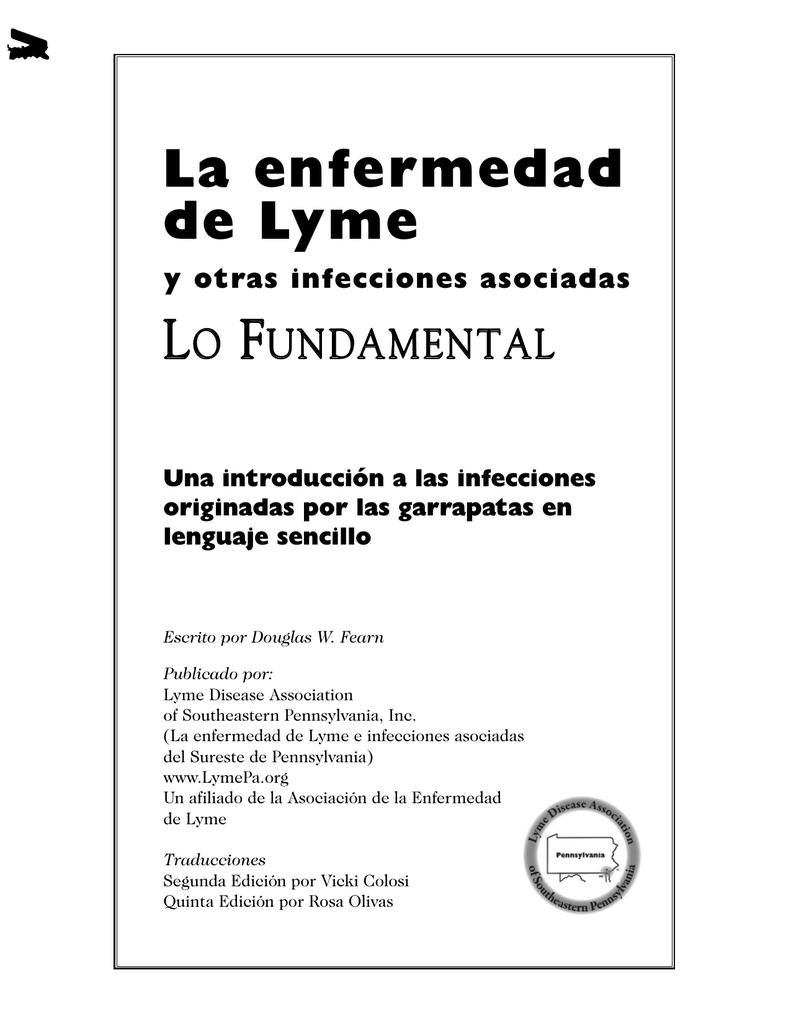 Enfermedad de Lyme síntomas de niebla cerebral