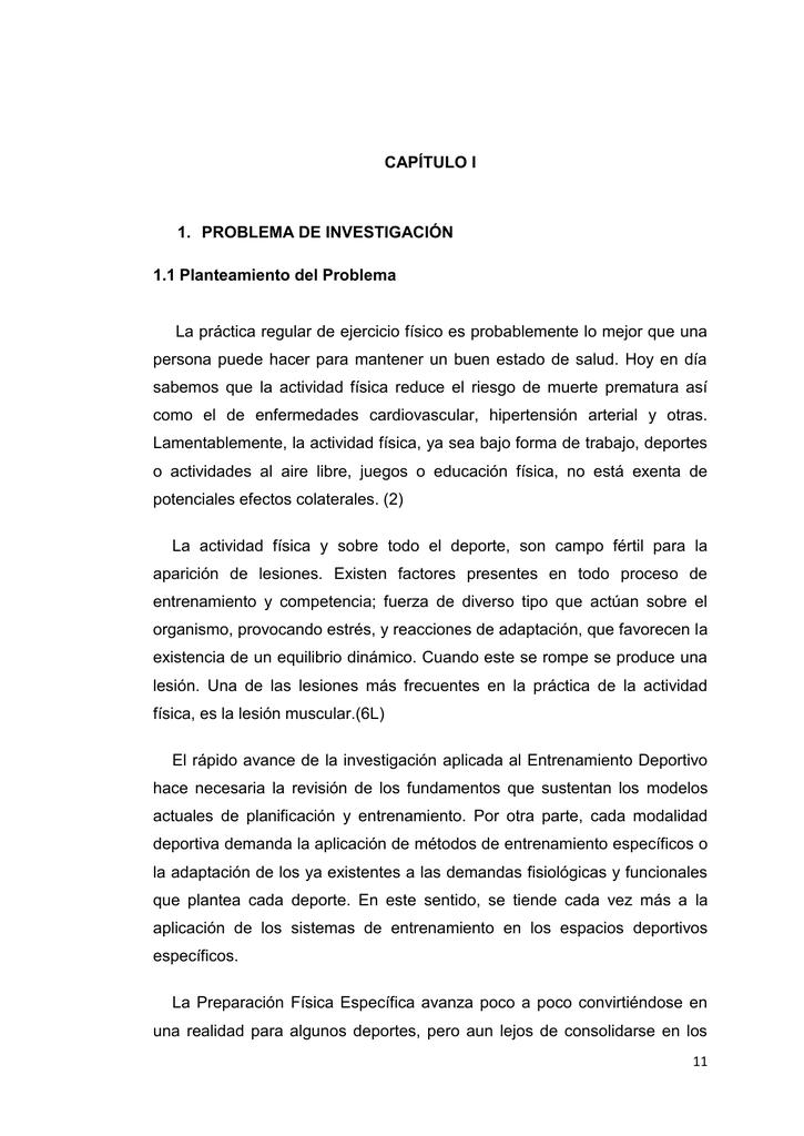 CAPÍTULO I 1. PROBLEMA DE INVESTIGACIÓN