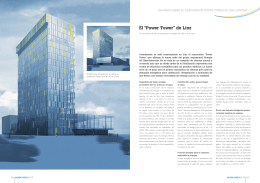 "El ""Power tower"" de Linz"