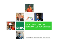 Prevención Accidentes ACHS