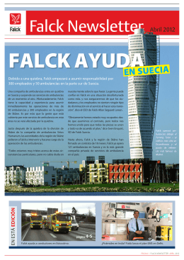 Falck Newsletter