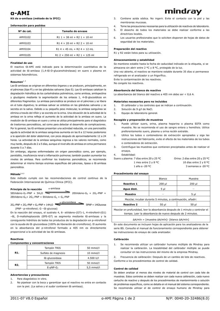 amylasa - Labtronicca