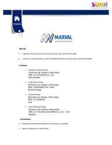 Marval Directora de Ventas y Mercadeo PBX. (5