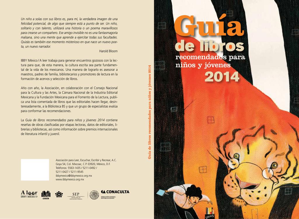 Guía de libros recomendados para niños y jóvenes 2014
