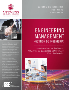 engineering management - Stevens Institute of Technology
