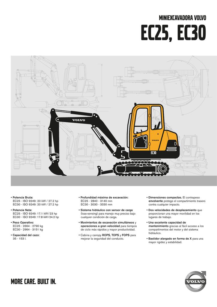 EC25, EC30 - Volvo Construction Equipment
