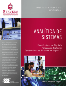 analítica de sistemas - Stevens Institute of Technology