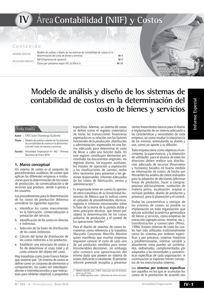 IV - Actualidad Empresarial