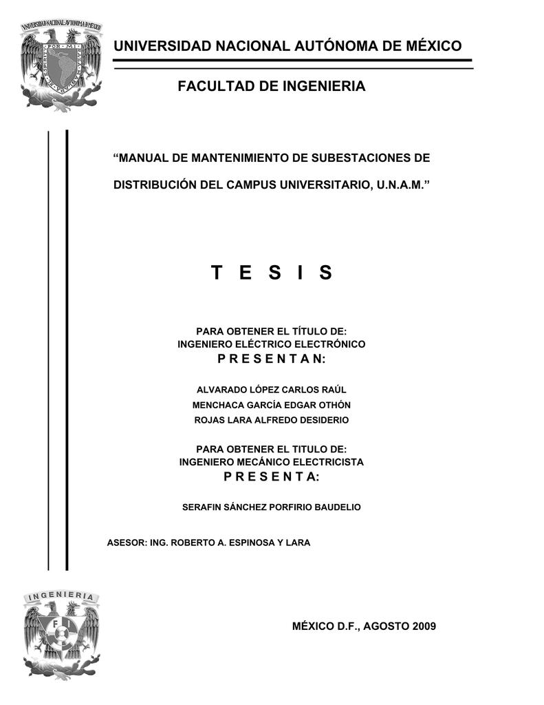 tesis - UNAM