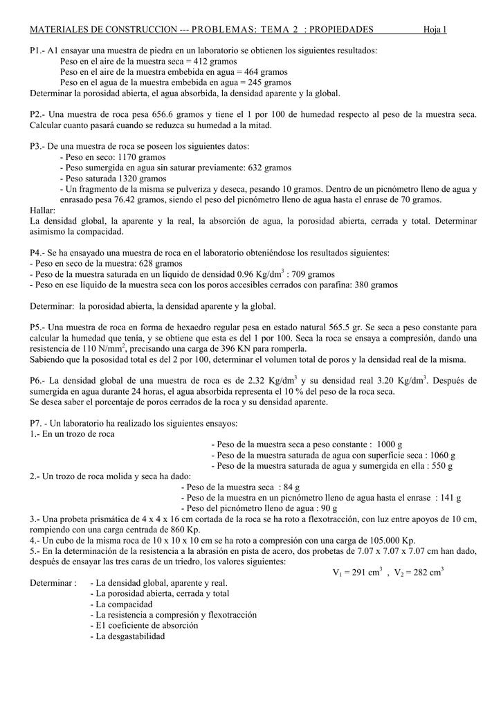 Tema2.MaterialesCONSTRUCCION.Problemas