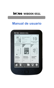 Manual usuario - Inves Wibook-651L-ES