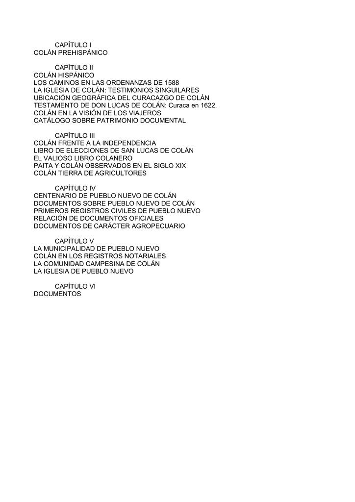bbcf4f0aa567 Descargar historia completa. - Municipalidad Distrital de Colán