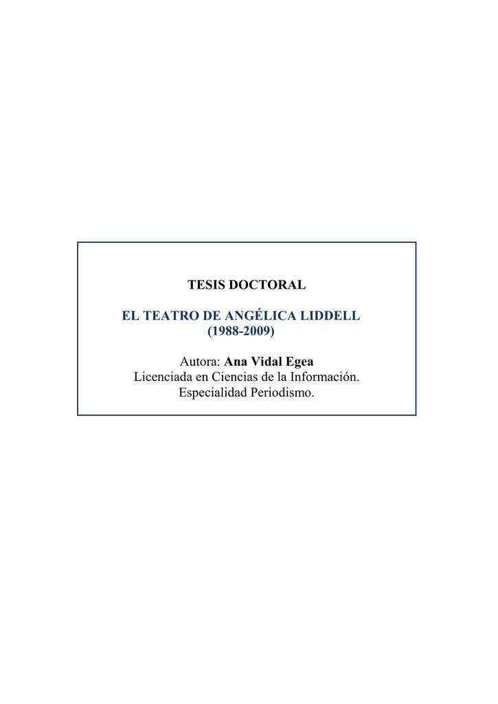 TESIS DOCTORAL EL TEATRO DE ANGÉLICA LIDDELL ccfbd0d03fb4b