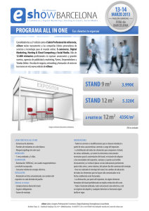 STAND 9m2 STAND 12m2 13-14
