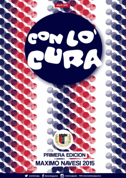 Revista Con Locura 1. Julio 2015.